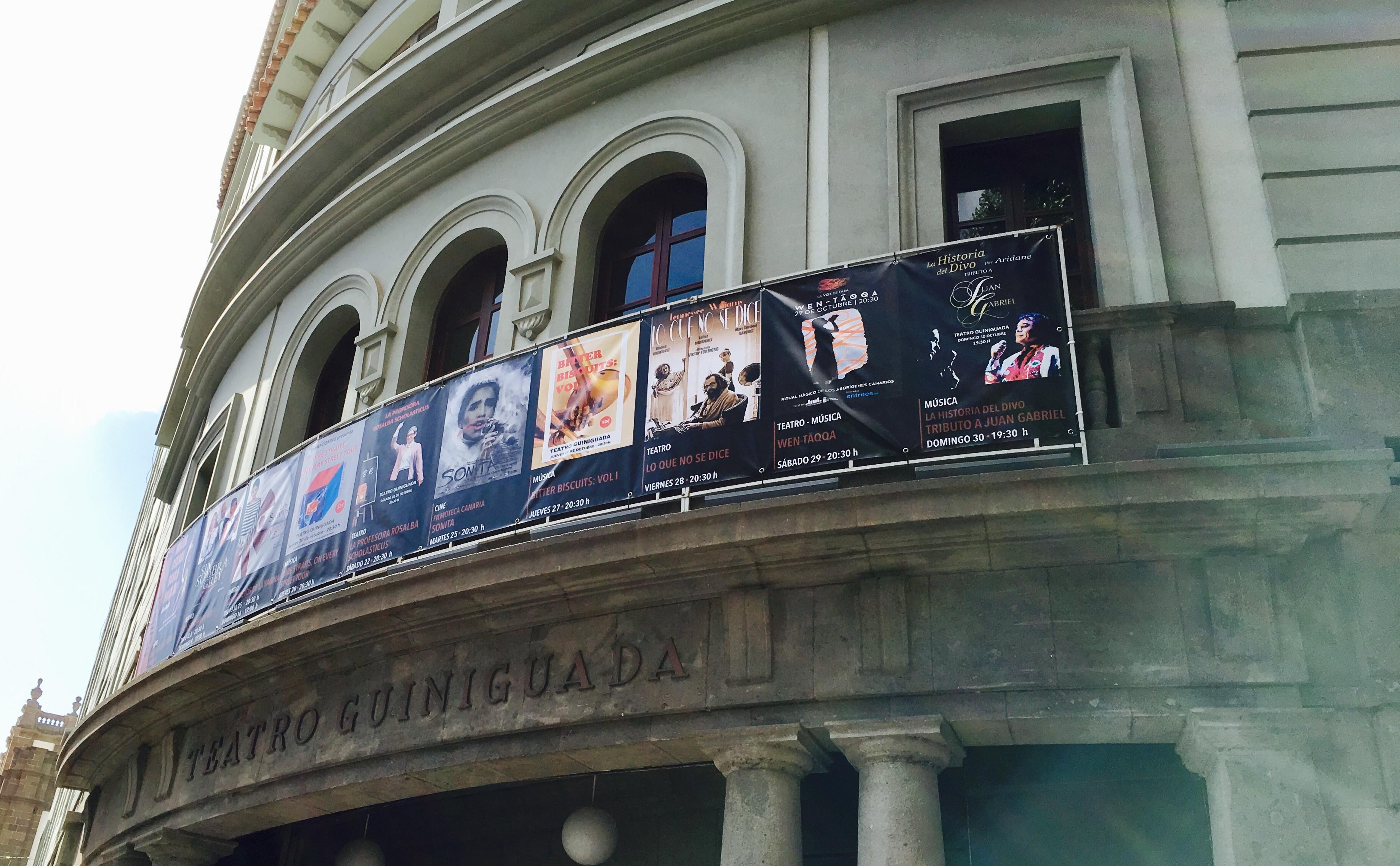 En el Teatro Guiniguada Compartiendo historia
