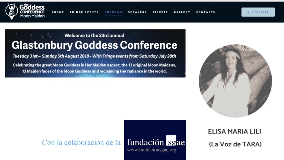 GLASTONBURY –  ENGLAND Agosto 2018 - Fundación sgae
