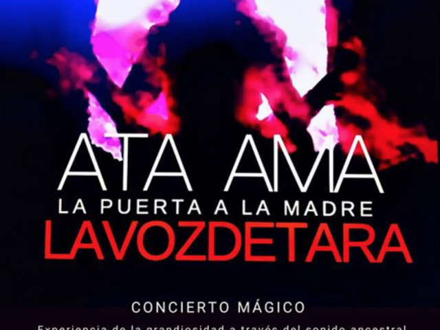 """1-8-2020 CONCIERTO MAGICO  """"ATA AMA"""" ESTRENO CORTOMETRAJE """"NOSOTRAS , OFRENDA"""" Viernes 8 Mayo 8 pm BSO LVDT"""